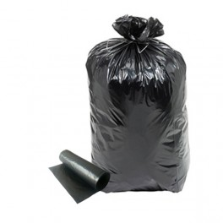 Sac poubelle 110 L Noir par 200