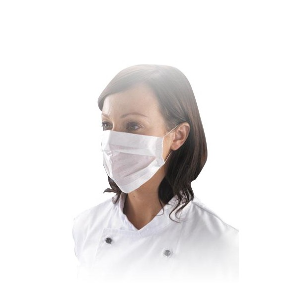 masque en papier jetable